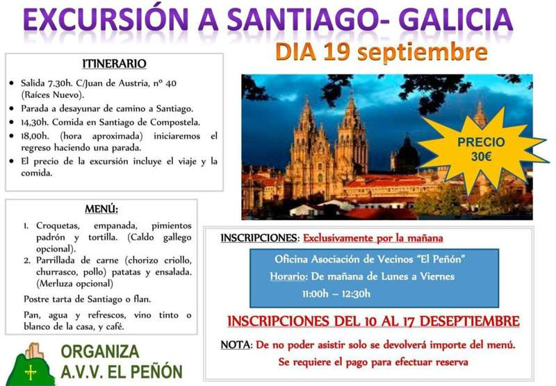 excursion santiago